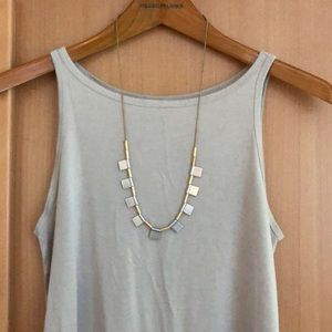 Madewell Long Statement Necklace